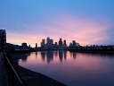 Isle of Dogs at Dawn